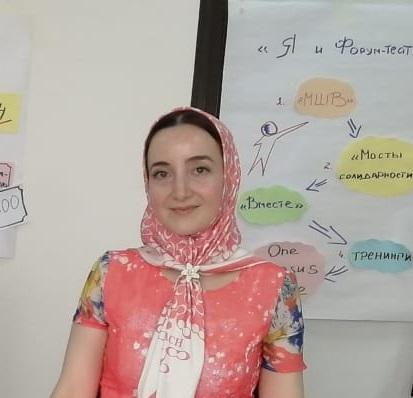 "Элина Бурчаева, координатор по связям с общественностью АНО ""ЦРТ"""